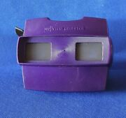 Rare Purple W/black Advance Lever Model J Or 10 Gaf View-master 3d Stereo Viewer