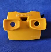 Rare Yellow W/black Advance Lever Model J Or 10 Gaf View-master 3d Stereo Viewer