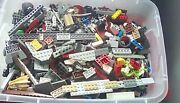 Large Lego Star Wars Lot Mixed Parts And Figures