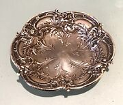 Vintage Antique Reed And Barton Sterling Silver Plate Dish Old Decor