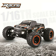 Brushless Motor 2.4g 116 Scale Rc Car 45km/h 4wd High Speed Rc Trucks Toys