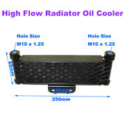High Flow Radiator Oil Cooler M10x1.25 For Chinese 125cc -190cc Motorcycle Parts