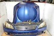Jdm 98-05 Toyota Altezza Lexus Is300 Front End Nose Cut Hood Fenders Headlights