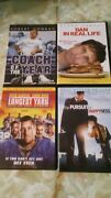 Lot Of 4 Dvds Dan In Real Life, Coach Of The Year, The Longest Yard + 1 More