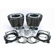 Zipperandrsquos Big Bore Cyl Kit Domed Pistons +12cc 107 To 117 Harley Milwaukee 8 17-u