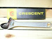 Vintage Ac18 8 Adjustable Cresent Wrench With Box