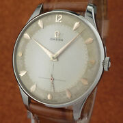 N.o.s. Vintage Omega - Big Size 36mmandoslash - Two Tones Textured Dial - From 1954and039