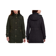 New Weatherproof Women's Quilted Midweight Hooded Walker Jacket Variety 313