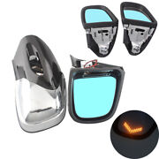 Motorcycle Led Turn Signal Rearview Side Mirror For Bmw K1200 Lt K1200m 1999-08