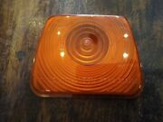 Bmac 759/3e Amber - Side Repeater Light Lamp Lens - Old Commercial / Coach / Bus