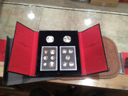 2005 United States Mint American Legacy Collection Proof And Silver Dollar Set