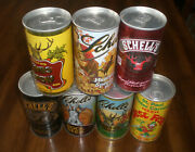 7 Schell's Schell Different Beer Cans - Bo
