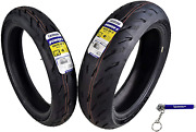 Michelin Pilot Power 5 Radial Sport Bike Motorcycle Tire Front And Rear Set Road