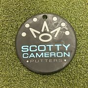 Used Scotty Cameron Titleist Fine Milled Putters Gray Putter Disc Bag Tag