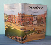 1992 Frankfort Indiana Clinton County Pictorial History Signed Limited Edition