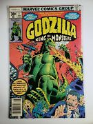 Godzilla 1 Lo To Mid-9s Off-white To White Pages Newsstand Edition
