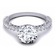 Sale 0.80 Ct Real Diamond Engagement Solitaire Ring Solid 950 Platinum 6 7 8 9