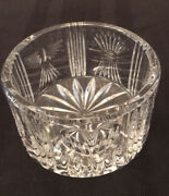 Rare Vintage Waterford Crystal Millennium Collection Wine Champagne Coaster Dish