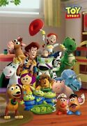 Tenyo Jigsaw Puzzle Disney Toy Story New Friends Stained Art 500 S-pieces