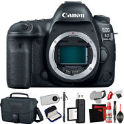 Canon Eos 5d Mark Iv Dslr Camera Body Only Intl Model +extra Accessory Bundl