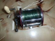 Vintage Penn Peer 209 Level Wind Conventional Reel Made In Usa