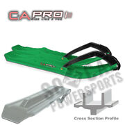 Canda Pro Boondocking Extreme Bx Skis Green Arctic Cat Cat Cutter 1992