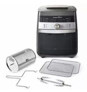 New Pampered Chef Deluxe Air Fryer Rotisserie And Dehydrator All-in-one
