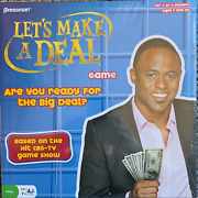 Let's Make A Deal Game - New - Pressman Game, For Ages 7 And Up, 3 Or 4 Players