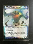 Foil Kozilek, Butcher Of Truth Ultimate Masters Box Topper Mtg, Contact For Best