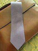 Brooks Brothers Pure Silk Tie Printed In Italy Made In Usa Beautiful