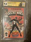 Marvel Super Heros Secret Wars 8 Cgc 9.6 Ss 3x Zeck Beatty Stan Lee Venom Label