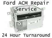 2010+ Ford Mustang Acm Radio Stereo Audio Control Module Mail-in Repair Service