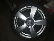 1 Of 2 Rim Alloy Mercedes And 85 X 18 Original A2124011302 W/tire Included