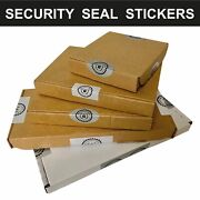 Home Moving Storage Cardboard Box Security Seal Stickers