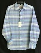 Robert Graham East Of Eden 198 L New Nwt Classic Fit Skull Trim Large Free Ship