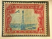 Us Stamp Scott C11 Rare Stamp Shifted Beacon 1928 Fine Collectors Collection