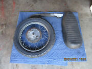 Triumph Trophy 650 Lot Of 3 Rear Tire And Wheel Chain Guard And Seat
