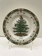 1999 Spode England Annual Collector Plate Christmas Tree In Original Box