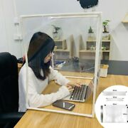 Diy Desk Partition Baffle Screen Anti-spray Transparent Isolation Board Protect