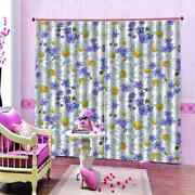Beautiful Little Daisy Printing 3d Blockout Curtains Fabric Window Home Decor