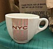 Vintage New York Central Nyc Railroad Train One Cup Syracuse China Ex Cond.