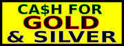 Cash For Gold And Silver - Vinyl Banner- Rugged And Durable - Many Sizes Made In Usa