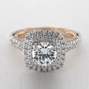 1.20 Ct Real Diamond Wedding Band Fine 14k White Gold Solitaire Ring Size 6 7 8