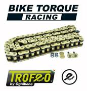 Trofeo Trx 110 Link X-ring Gold Chain To Fit Triumph 900 Adventurer 96-98