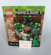 Minecraft Lego Set 21102 Micro World The Forest New Sealed