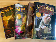 The Spiderwick Chronicles Series Lot Books 1-4 Hc With Dust Jackets New