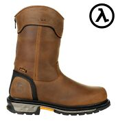 Georgia Carbo-tec Ltx 11 Waterproof Pull On Back-zip Boots Gb00394 All Sizes