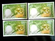 Vietnam 1955 5 Nam Dong P-2 Uncirculated[4 Notes In Sequence[same As Pictured.