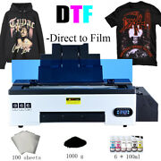 A3 Dtf Printer T-shirt Personal Diy Printer For Home Business Direct To Film