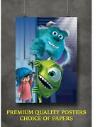 Monsters Inc. Classic Movie Art Large Poster Print Gift A0 A1 A2 A3 A4 Maxi